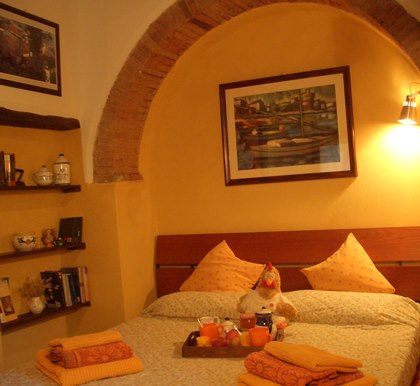 b&b farmhouse holiday in Tuscany Italy