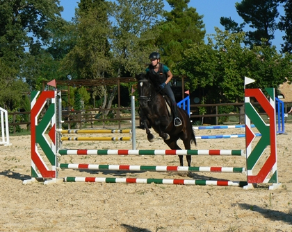 Tuscany Italy horse riding holiday stables Podere Palazzone