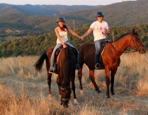 horse riding and trekking in Tuscany Italy