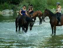 riding holiday and trekking in Tuscany Italy